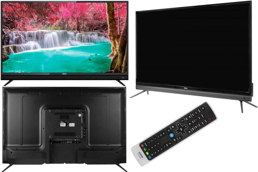 Бюджетный 4К телевизор BBK 43LEX-8161/UTS2C