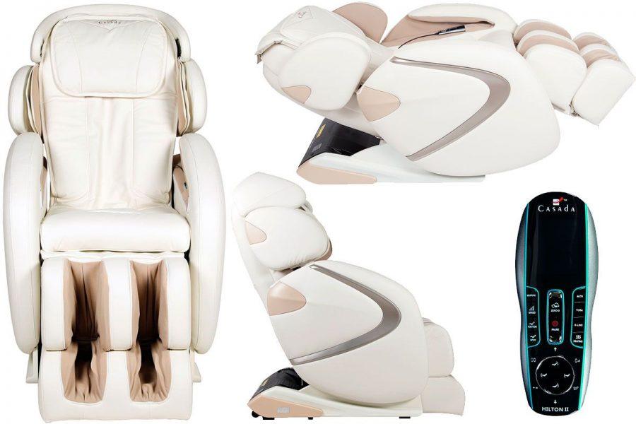 Премиальное массажное кресло Casada Hilton 2