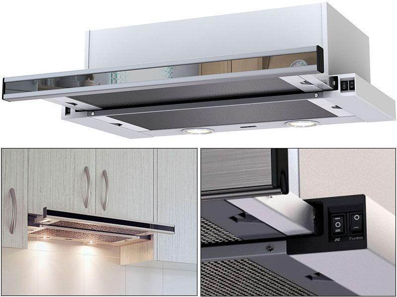 Встраиваемая кухонная вытяжка Kronasteel Kamilla Sensor 2M 600