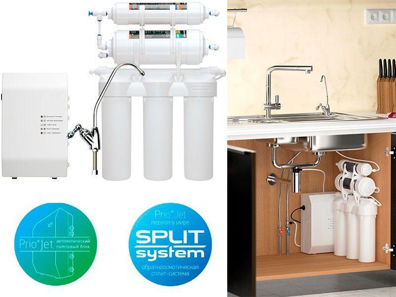 Фильтр для воды Новая Вода Praktic Osmos Stream OUD600