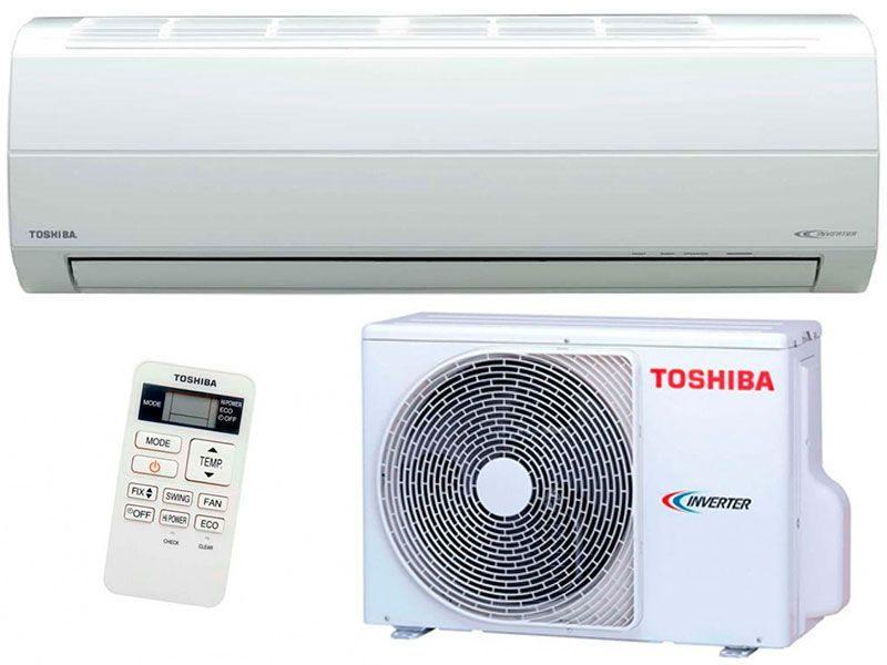 Сплит-система кондиционер инверторный Toshiba RAS-10EKV-EE / RAS-10EAV-EE