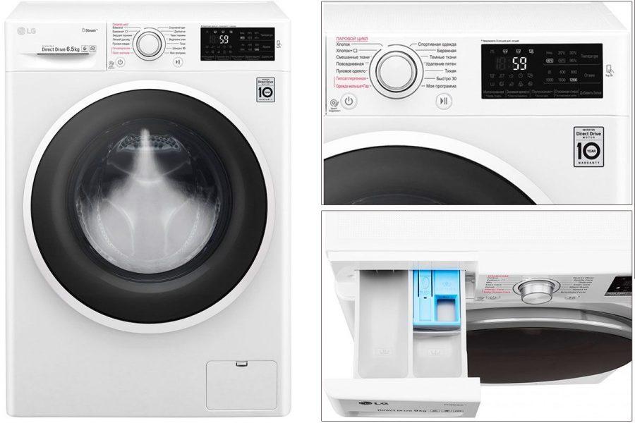 Хорошая стиральная машина 2019 LG F-2J6WS0W