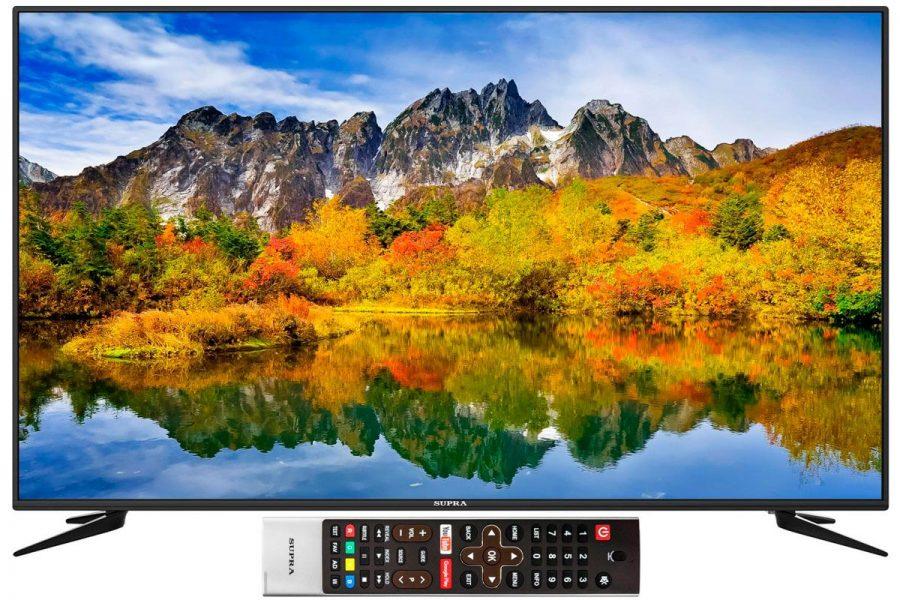 бюджетный 4к телевизор Supra STV-LC55GT5000U