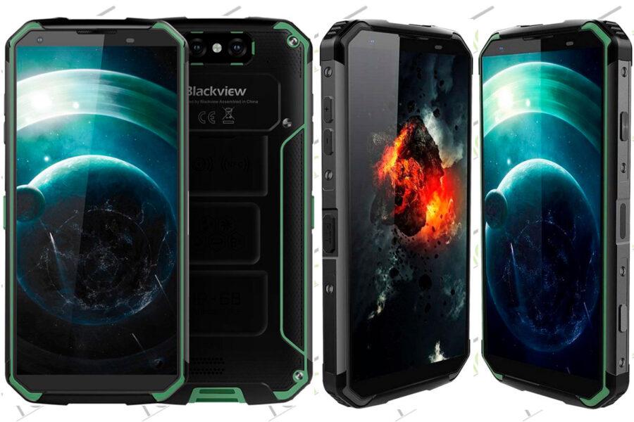 лучший защищенный смартфон Blackview BV9500 Plus