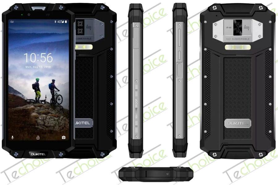 Хороший защищенный смартфон Oukitel WP2