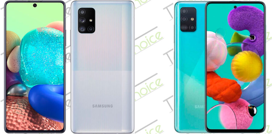 Смартфоны Samsung 2020