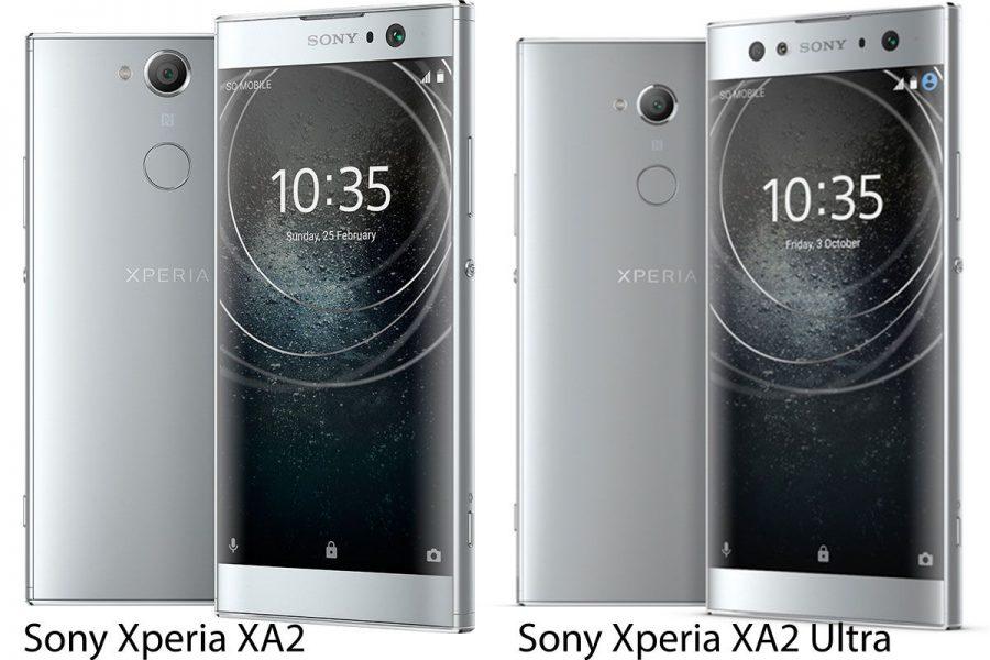 Смартфоны Sony 2018