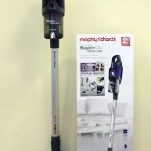 Обзор беспроводного пылесоса Morphy Richards SuperVac Sleek Pro 734000