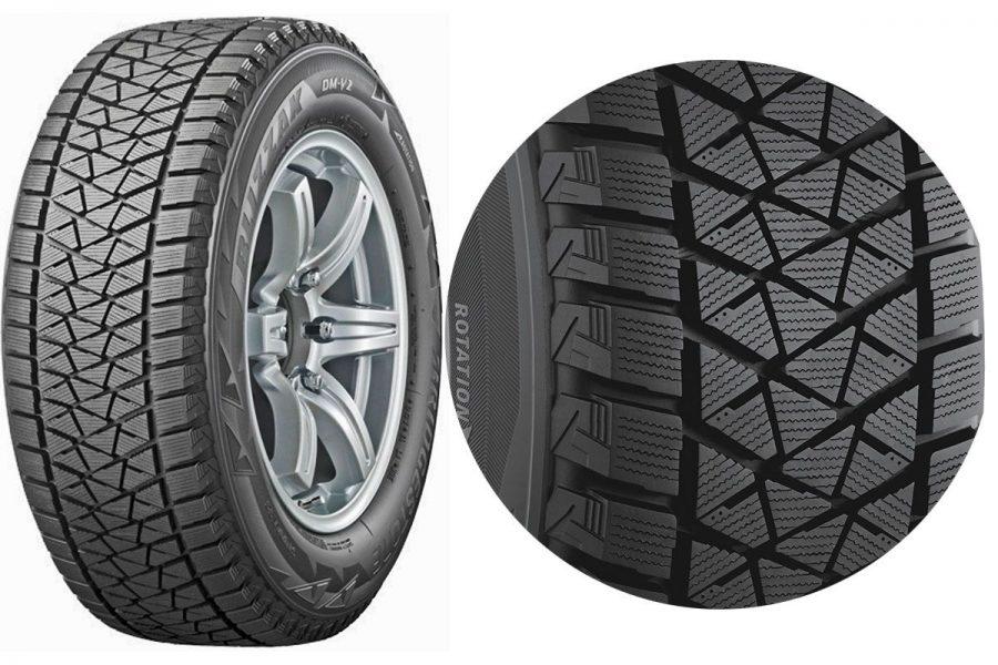 Фрикционная шина-липучка Bridgestone Blizzak DM-V2