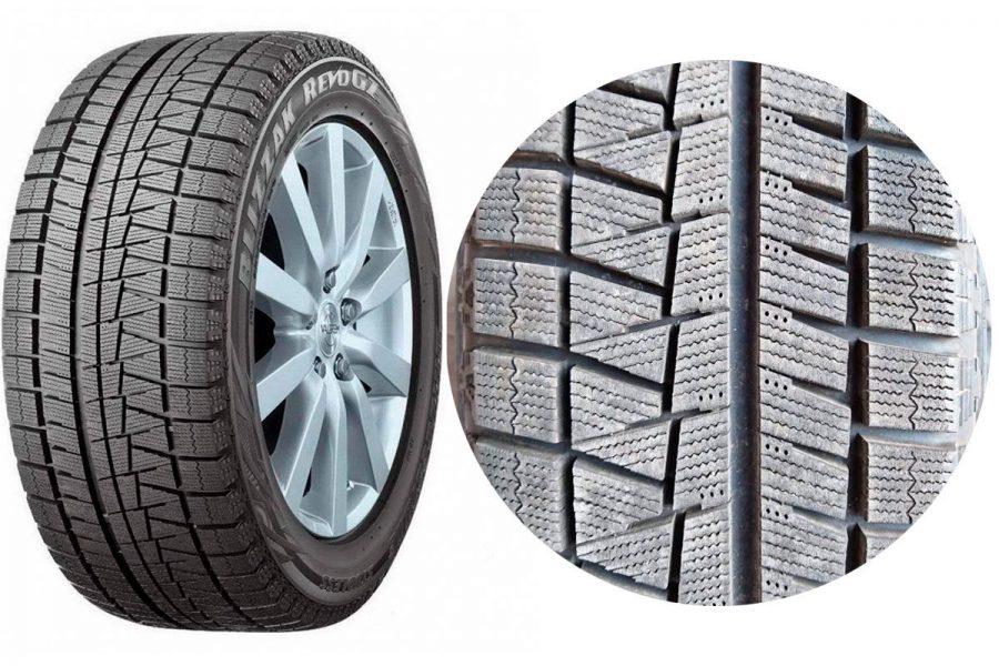 Фрикционные шины-липучки Bridgestone Blizzak Revo GZ