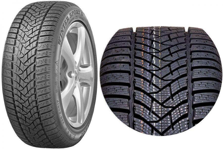 Фрикционная шина-липучка Dunlop Winter Sport 5