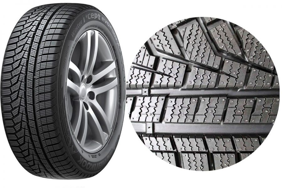 Фрикционная шина-липучка Hankook Tire Winter I*Cept Evo 2 W320