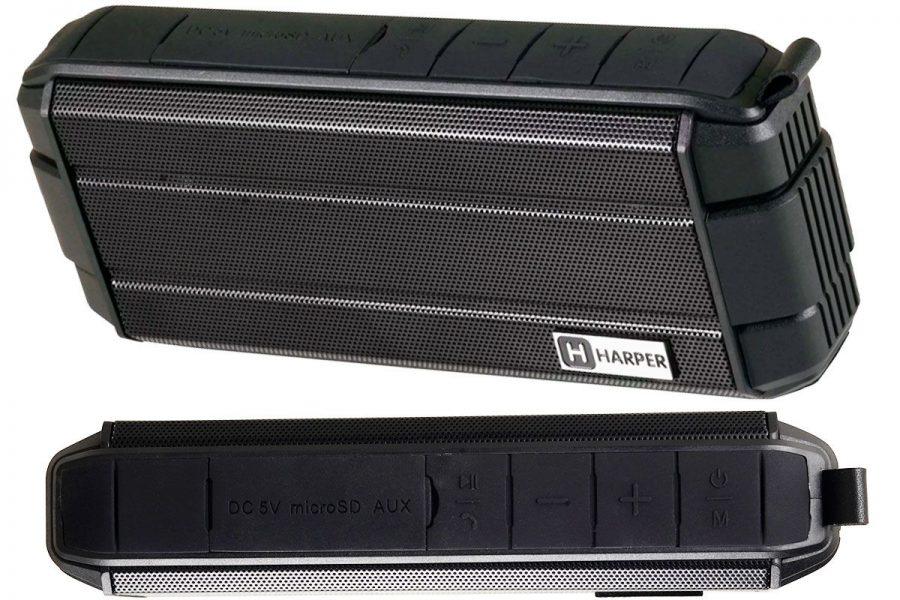 Хорошая портативная акустика HARPER PS-043