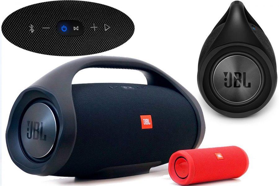 Высококачественная портативная акустика JBL Boombox