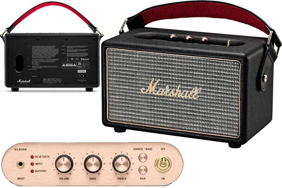 Высококачественная портативная акустика Marshall Kilburn