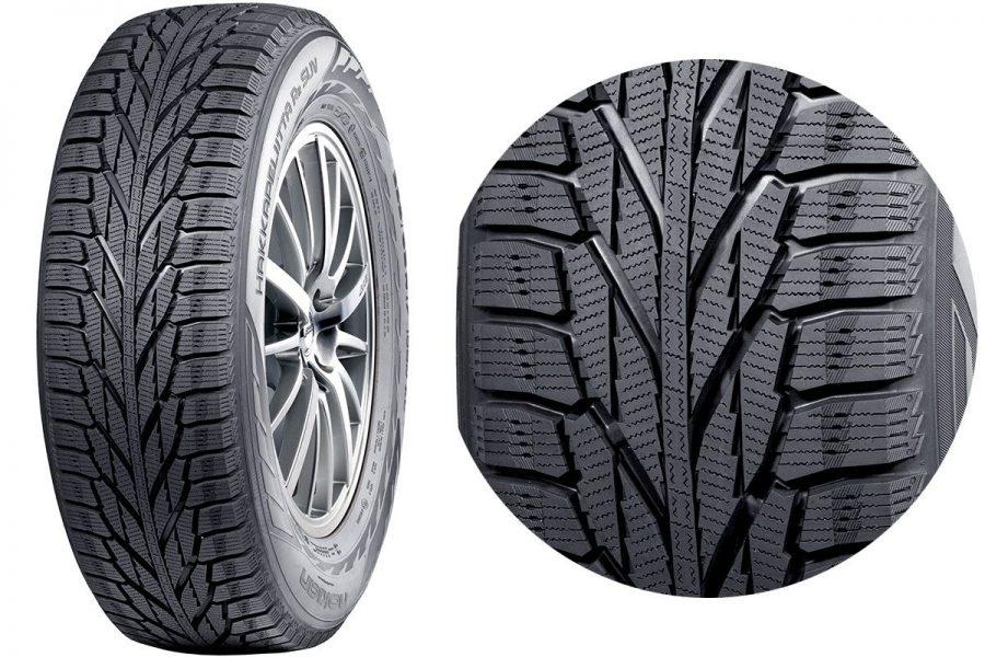 Фрикционная шина-липучка Nokian Tyres Hakkapeliitta R2 SUV