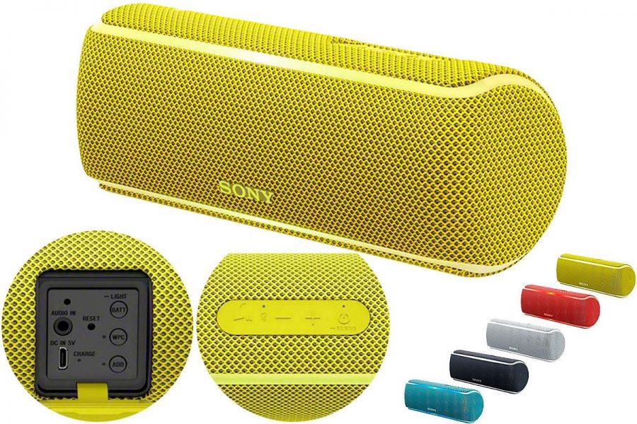 Маленькая и хорошая портативная акустика Sony SRS-XB21