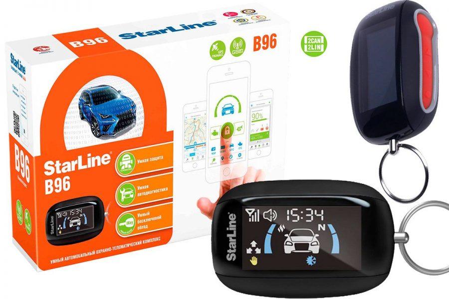 качественная автосигнализация StarLine B96 2CAN+2LIN GSM GPS