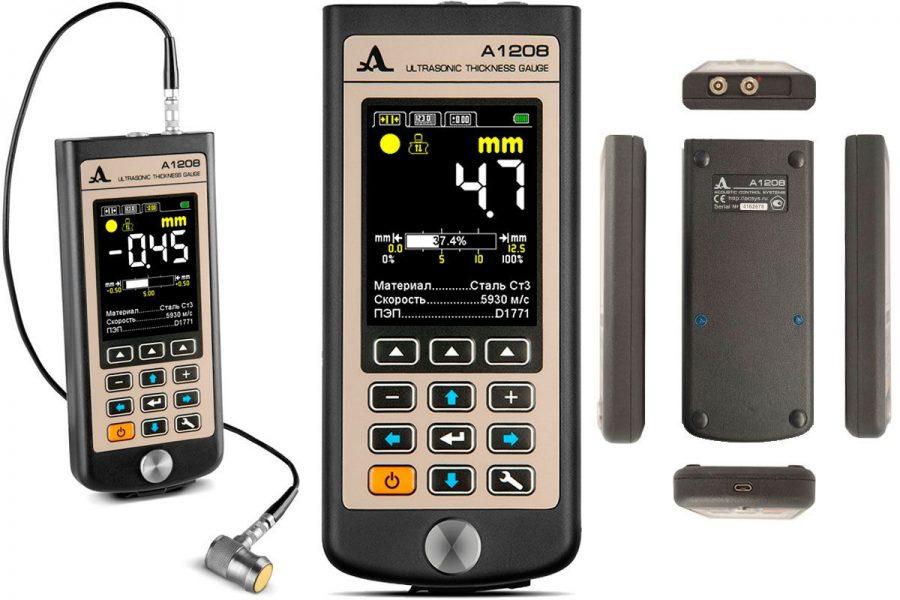 Профессиональный толщиномер ACS A1208