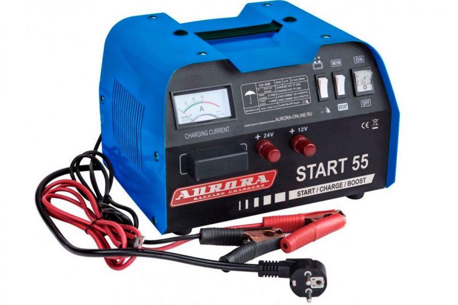 Качественное пуско-зарядное устройство Aurora Start-55