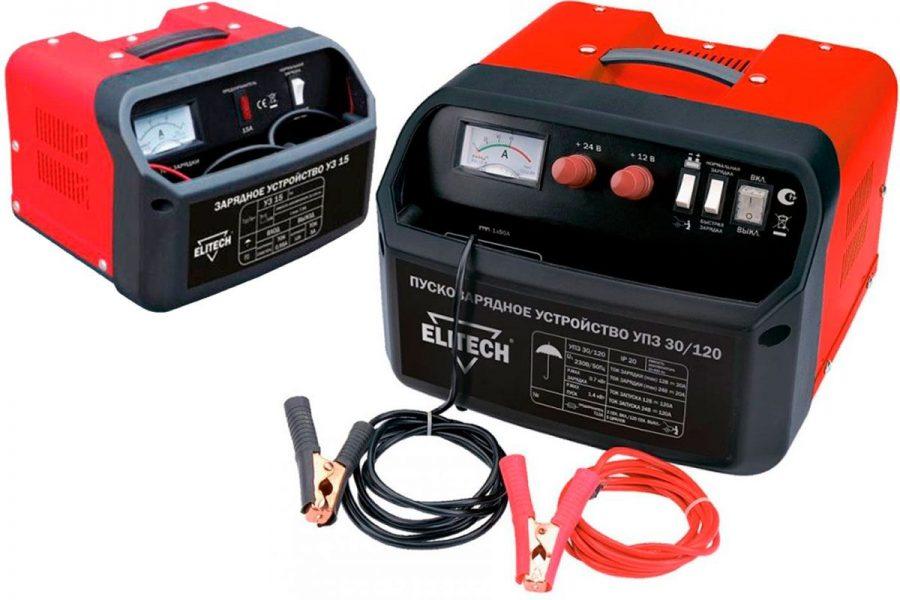 Качественное бюджетное пуско-зарядное устройство Elitech UPZ 50/180