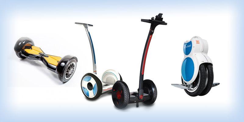 Лучшие гироборды: гироскутеры, сегвеи и моноколёса