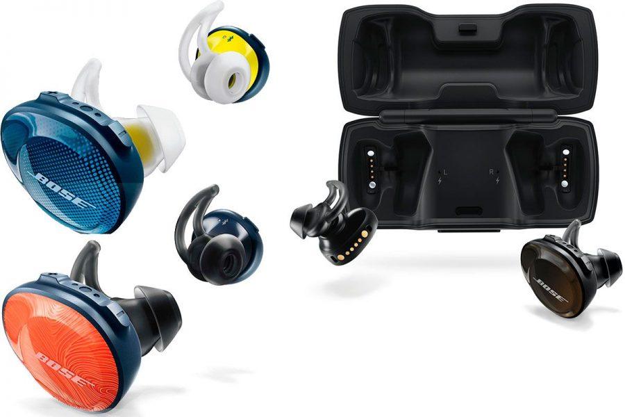 Высококачественные TWS-вкладыши Bose SoundSport Wireless Free