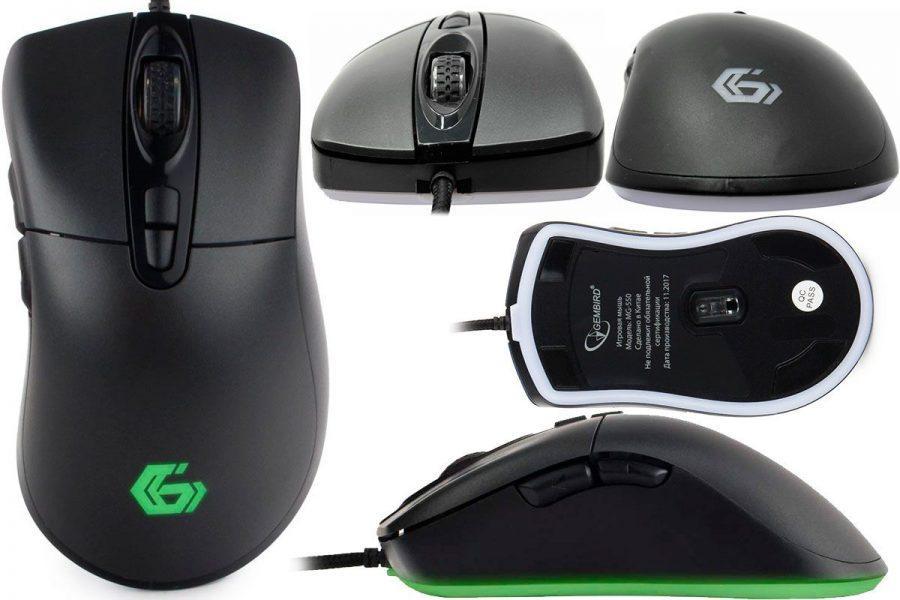 Игровая бюджетная проводная мышь Gembird MG-550