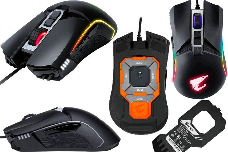 Проводная игровая мышь Gigabyte AORUS M5