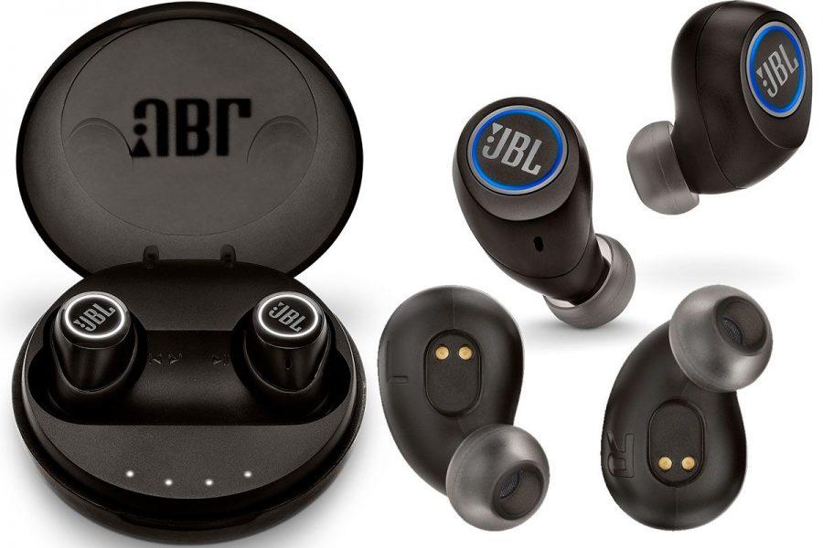 Беспроводные true wireless спортивные наушники JBL Free