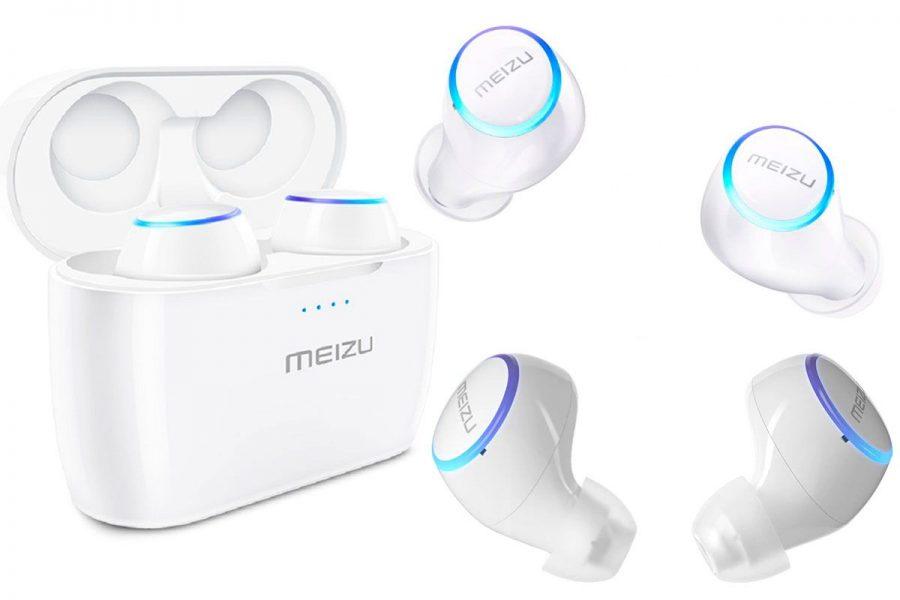 Беспроводные спортивные true wireless наушники Meizu POP 2