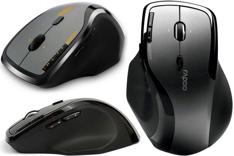 Удобная офисная мышь Rapoo 7600 Plus