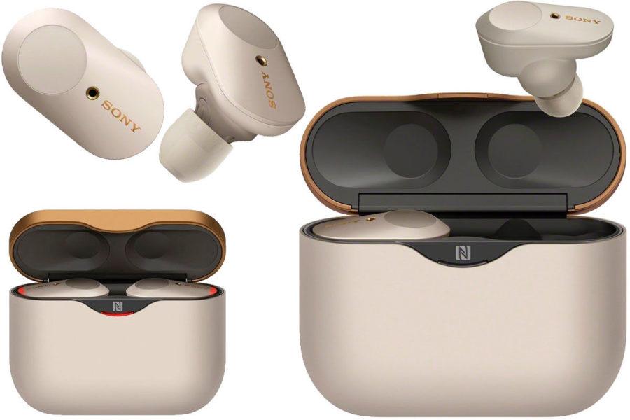 Высококачественные TWS-наушники Sony WF-1000XM3