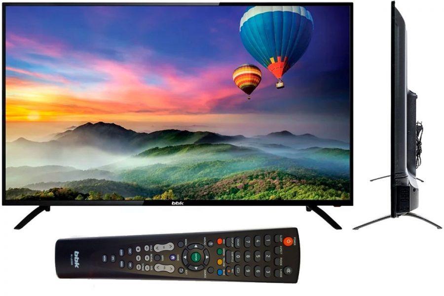 Бюджетный 50-дюймовый смарт-телевизор BBK 50LEX-5056/FT2C