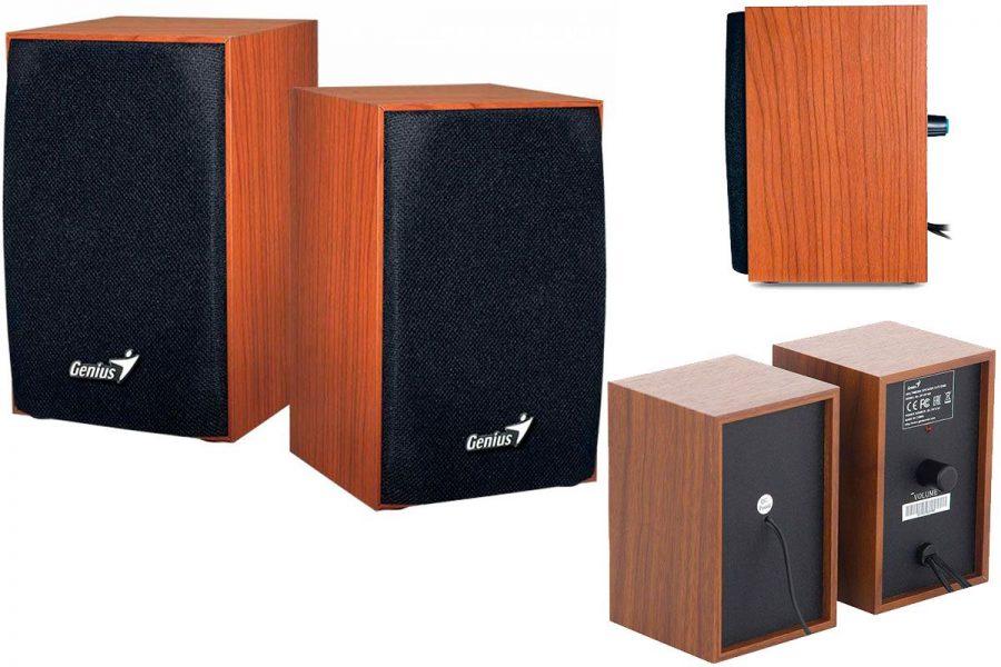 Бюджетная компьютерная акустика Genius SP-HF160