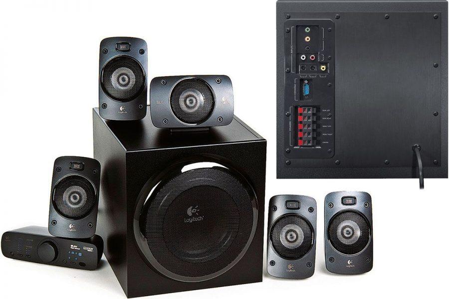 Качественная компьютерная акустика Logitech Z906