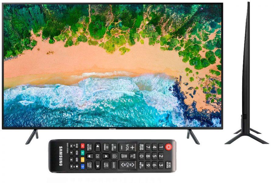 Проверенный качественный смарт-тв Samsung UE58NU7100U