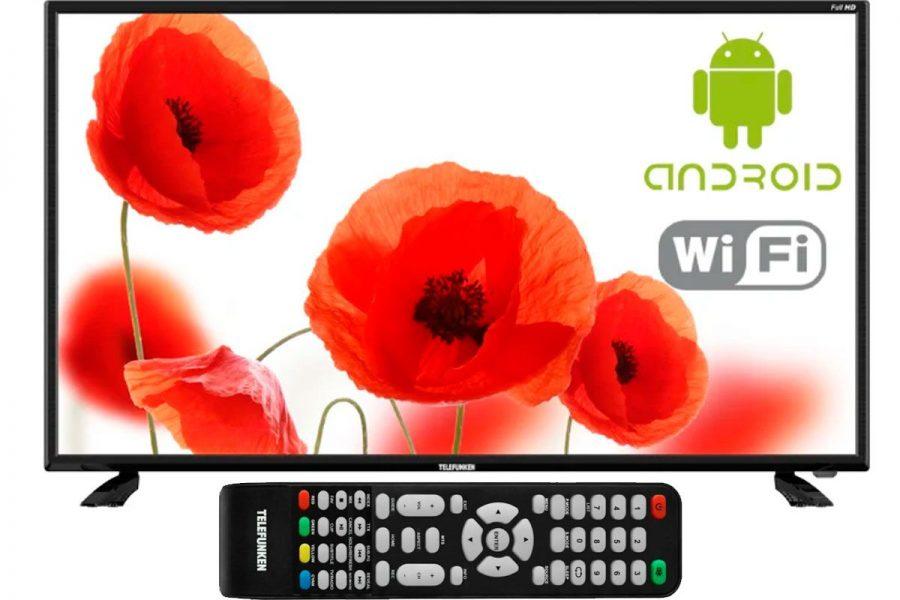 бюджетный смарт-телевизор TELEFUNKEN TF-LED40S43T2S