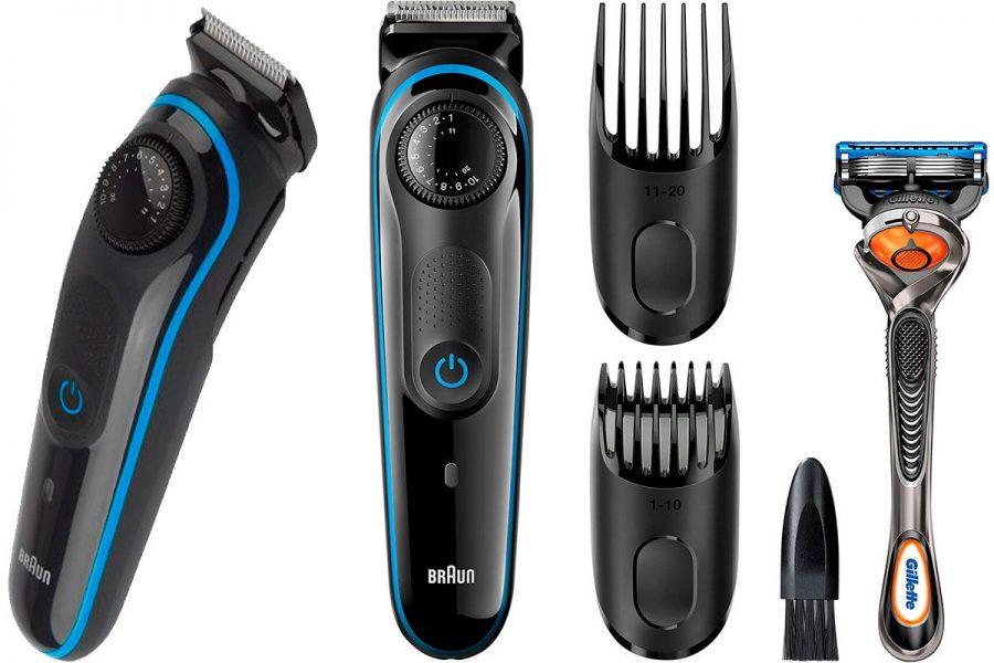 Проверенный триммер для усов и бороды Braun BT 3040