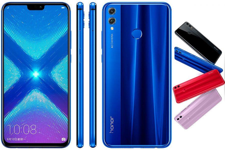Качественный безрамочный смаортфон 2019 Honor 8X