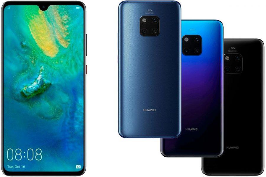 Смартфон с хорошей камерой 2019 Huawei Mate 20