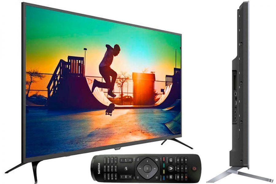 Бюджетный 50-дюймовый качественный телевизор Philips 50PUT6023