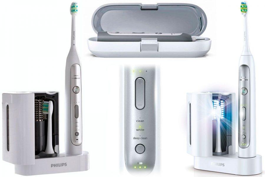 Ультразвуковая электрическая зубная щетка Philips Sonicare FlexCare Platinum HX9182