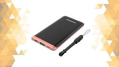 обзор пауербанк PowerBank Tronsmart Trim 10000