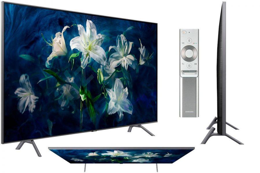 Качественный UHD-телевизор 2019 Samsung QE55Q8DNA