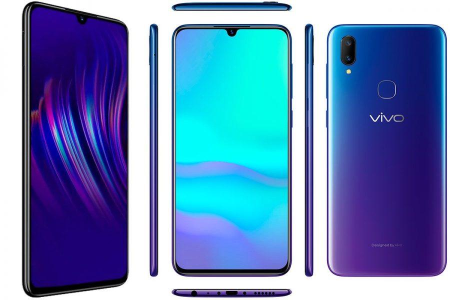 безрамочный смартфон 2019 Vivo V11
