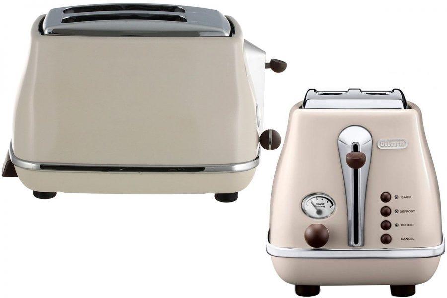 Дизайнерский тостер De'Longhi CTOV 2103