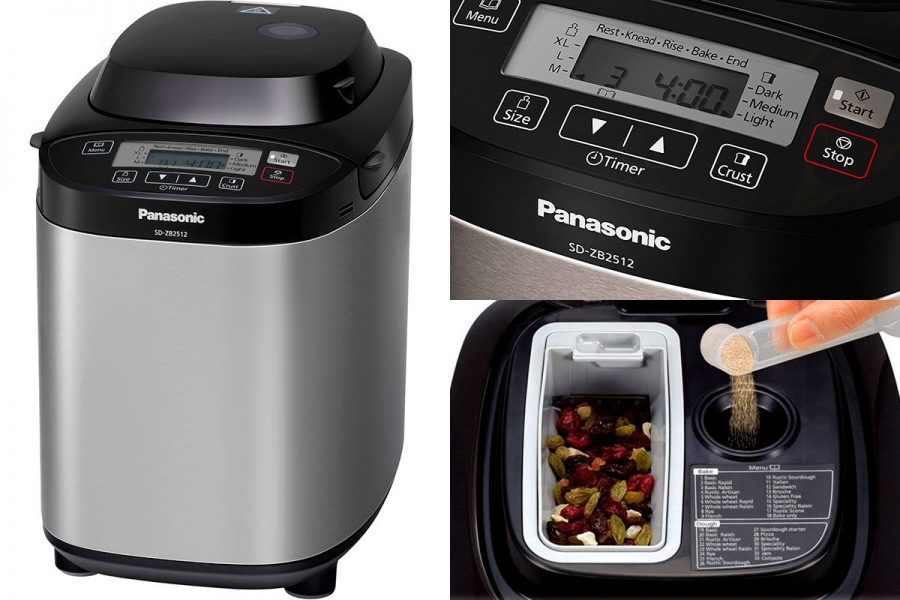 лучшая хлебопечка 2019-2020 Panasonic SD-ZB2512