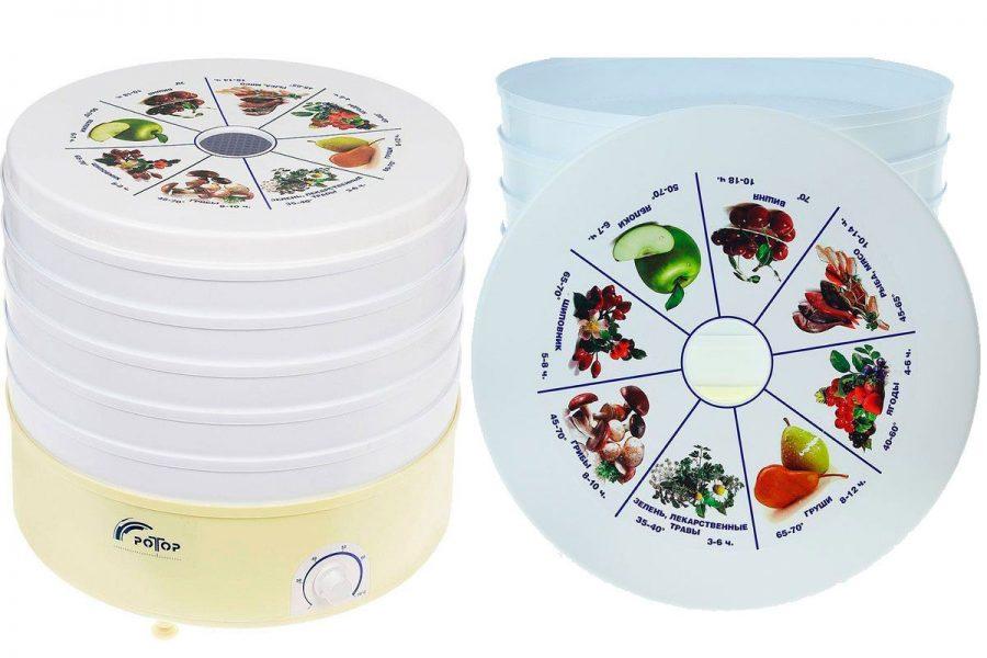 Электросушилка (дегидратор) для овощей и фруктов Ротор СШ-002
