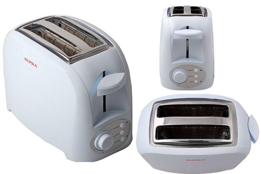 Бюджетный простой тостер SUPRA TTS-115